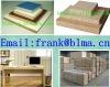 18mm E0 E1 E2 glue plain or melamined particle board for Indoor Furniture