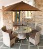 2011-AWRF6073-garden dining set_PE rattan furniture