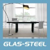 2011 Extension glass dining table WC-BT899