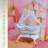 2011 Unique& swinging baby cradle/bassinet