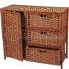 2011 hot new willow or wicker and wooden cabinet!!