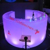 2012 NEW LED ROUND BAR TABLE