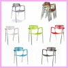 2012 New design modern outdoor colorful plastic chair price TYS-7130