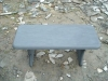 2012 hot Outdoor slate bench-001