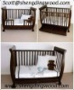 3 in 1 Sleigh cot and bed