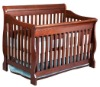 4-in-1 Convertible Crib, Cherry