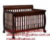 4 in 1 Convertible Crib in Espresso/Baby Bed