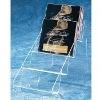 4 levels Acrylic CD Display,Acrylic CD Rack,Acryllic CD Holder