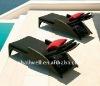 AWRF7223-2011 HOT SELL leisure PE wicker patio sun lounge bed,UV-RESISTANT,WATERPROOF,SELLER