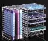 Acrylic CD Display,Perspex CD Holder,Plexiglass CD Rack