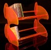 Acrylic CD Rack,Lucite DVD Stand,Acrylic CD Display
