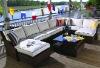 Ad1428 Fashion rattan furniture sofa set