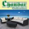 American style rattan sofa outdoor furniture