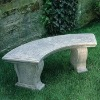 Antique Resin Park Bench 14917
