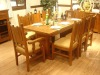 Antique Wooden tables and chairs furniture