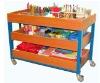 Art storage unit,moving storage unit,preschool furniture,school furniture