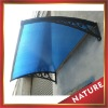 Awning,canopy with blue board
