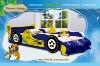 BEIMIKA Hot Sale Wood Sauber Racing Car Bed 970-01B