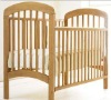 Baby Sleigh Cot white color