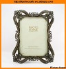 Bronze 5*7 inch Floral Vintage antique photo frame (CE)
