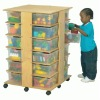 Child Toy Storage Cabinet