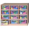 Child Toy Storage Cabinet with boxes