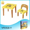 Children plastic table chair