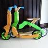 Children wooden bike