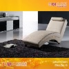 Chinese Leather Chaise  EM-LDb19