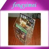 Clear  Acrylic Magazine  Pocket