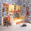 Colourful MDF children bedroom set