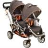 Contours Options II Tandem Stroller in Tangerine