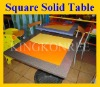 Customized modified acrylic solid surface dinner table