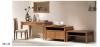Dresser(Ash wood ash veneer rattan upholstery fabric HB-133)