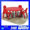 Eco-friendly Plastic Round Table WT-K9584A