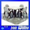 Eco-friendly Plastic Square Table WT-K9584C