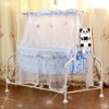 Electric automatic swing baby crib