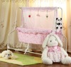 Electric swing baby crib