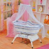 Electric swing music baby cradle