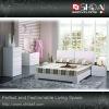 Fashion design white paint bed B-53