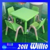 Food Grade Plastic Tables and Chairs WT-K9584C