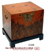 Hand Painted Asian Style Wooden Storage Chest