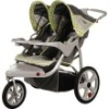 Instep 11-AR281 Double Safari Swivel Wheel Jogger in Gray/Green 11-AR2