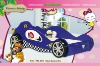 KIDS Dynamic Fashion and lively Racing Car Bed for Boy 992-01B