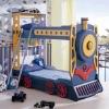Kids train bunk bed