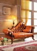 Living Room Furniture European Leather Sofa Lounge Chaise W381C# with Good Quality