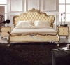 Luxury Leather Soft Bed D3166