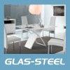 Modern Glass Dinner Table WC-BT515