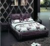 Modern Leather Bed A2203