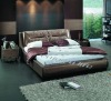 Modern Leather Bed A2205